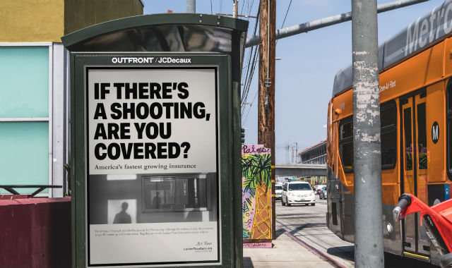 Gun insurance ad