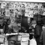 Newstand in New York in 1982