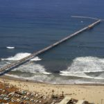 Aerial photo of Ocean Beach Pier