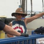 An assault near Ocean Beach Pier left a man with an apparently minor stab wound Wednesday.