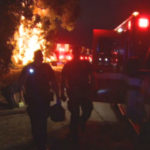 Fiery crash on Interstate 5