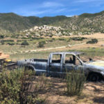 Truck burned in Ranchita fire
