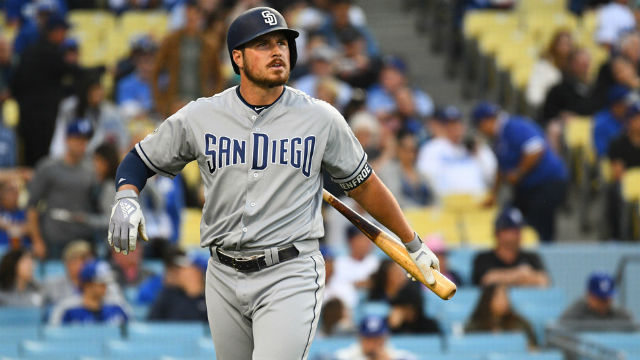 San Diego Padres outfielder Hunter Renfroe