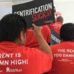 Rent control advocates
