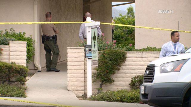 Crime scene in Lake San Marcos