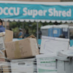 SDCCU Super Shred event