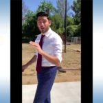 "Democrat Ammar Campa-Najjar as seen in video saying ""So I'm being told he's going to resign."""