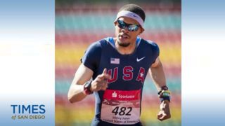 Stirley Jones, a visually impaired Paralympic sprinter, was a national team member when he was drug-tested in October.