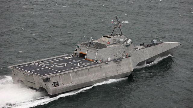 Alabama Shipyard Delivers 10th Trimaran-Hull Littoral Combat
