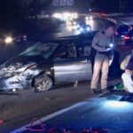 CHP officers investigate crash