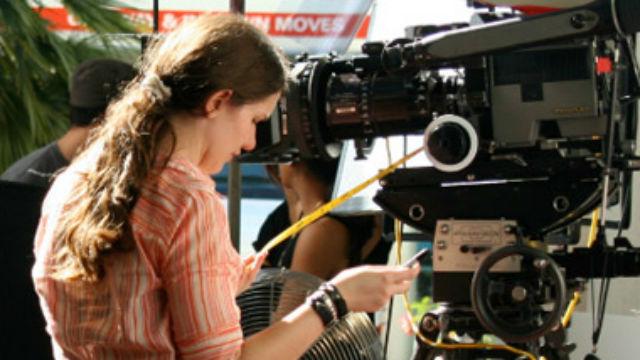 A woman filmmaker
