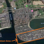 Campland contract area in Mission Bay Park.