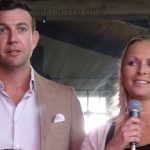 Rep. Duncan D. Hunter and his wife, Margaret, are seen in La Mesa at 2014 Polonia United event for Polish-Americans in the San Diego region.