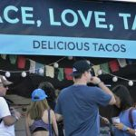 Food tent at 2016 KAABOO in Del Mar.