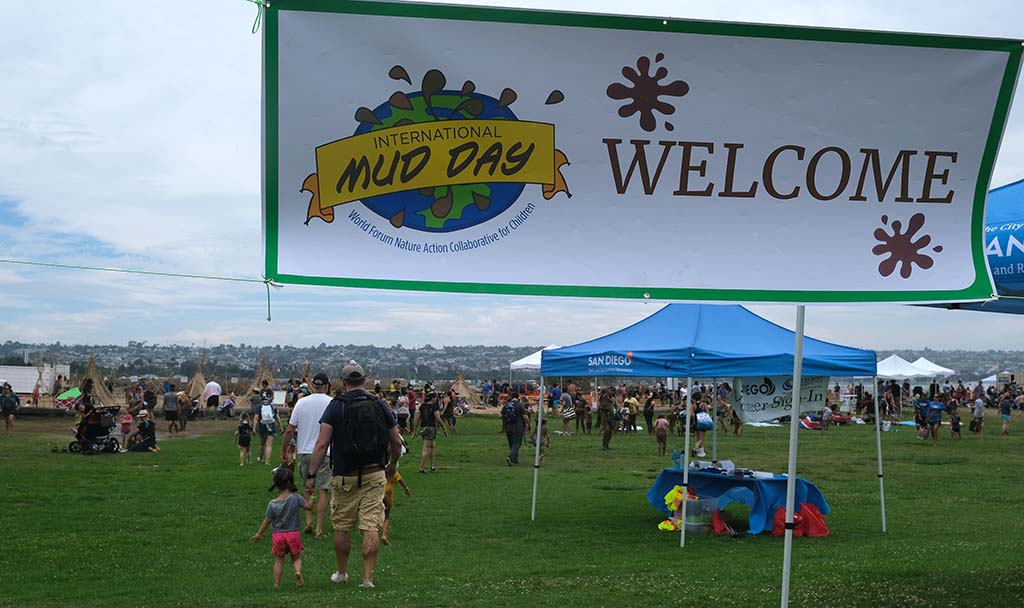 More than 2,000 people participated in the second annual Mud Day activities hosted by the San Diego Parks and Recreation Department.