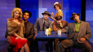 "The cast of ""Another Roll of the Dice"" at North Coast Repertory Theatre"
