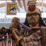 Christopher Canole dresses at Dude Vader at Comic-Con 2019