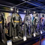 Batman models at the Comic-Con Museum
