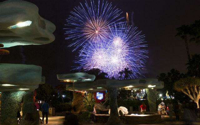 Fireworks over Explorer's Reef