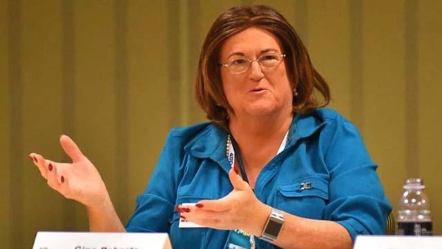Gina Roberts von Valley Center Fällt Kurz zu Machen NRA-Vorstand Wahlgang
