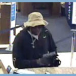 Photo of suspect in Hillcrest bank robbery