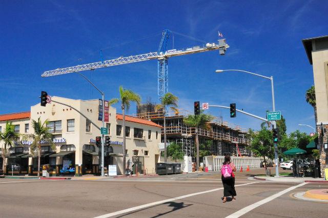 Housing under construction in Hillcrest