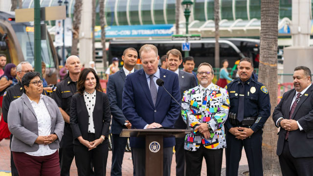 Mayor Kevin Faulconer officially opens Comic-Con 2019