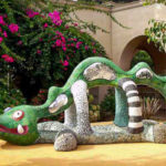 """Nikigator"" outside the Mingei International Museum in Balboa Park"