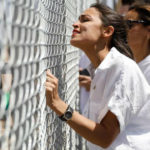 Rep. Alexandria Ocasio-Cortez at the border
