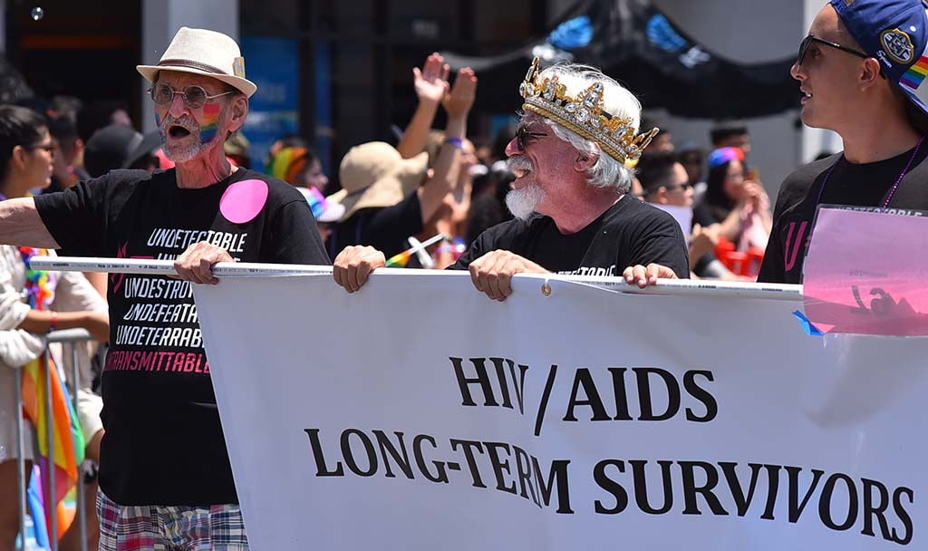 Long-time survivors of HIV/Aids touted the progress in treating people with the disease.
