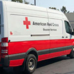 Red Cross disaster-relief truck