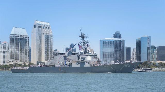 USS Stethem returns