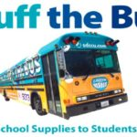The 2019 Stuff the Bus school-supply drive is a project of San Diego County Office of Education, San Diego County Credit Union and iHeartMedia.