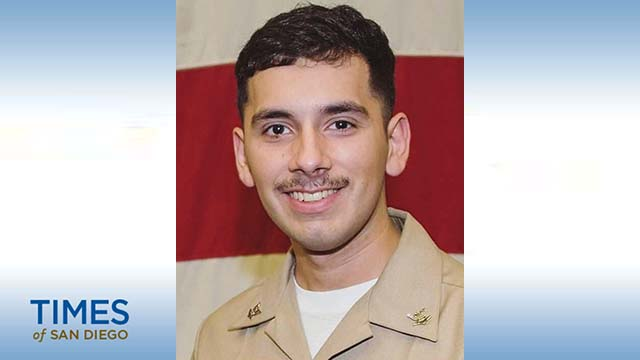 Aviation Electronics Technician 2nd Class Slayton Saldana.