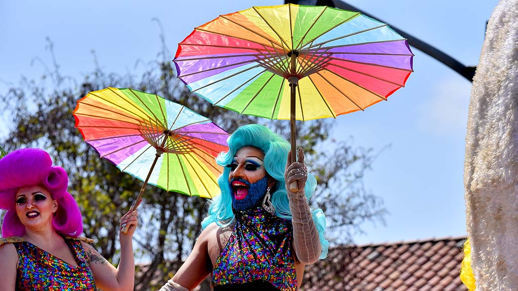 Harris Resort entered a float in the 2019 San Diego Pride Parade.
