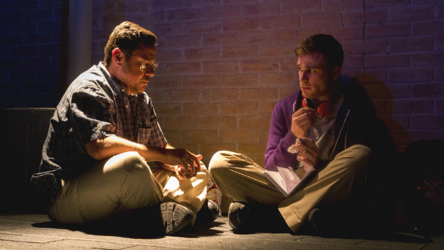 """Salomon Maya and Devin Wade in """"A Bright New Boise"""" at OnStage Playhouse"""