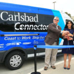 Ribbon cutting for the Carlsbad Connector
