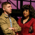 "Scene from ""Dogfight"" at the Coronado Playhouse"