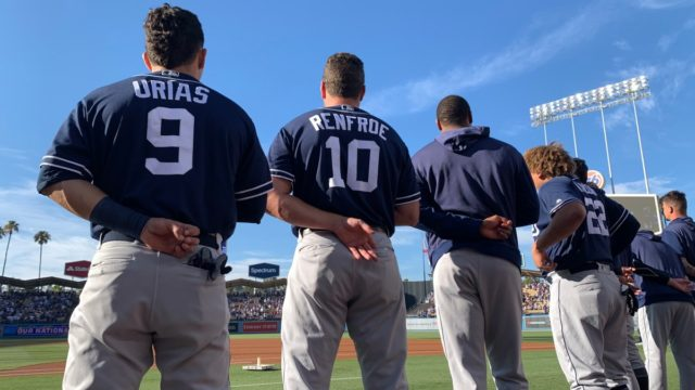 Padres Moment of Silence