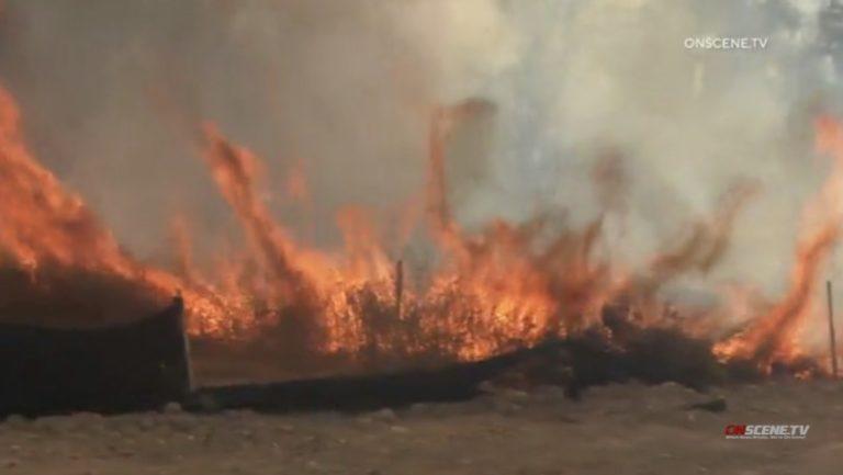 Small brush fire San Diego
