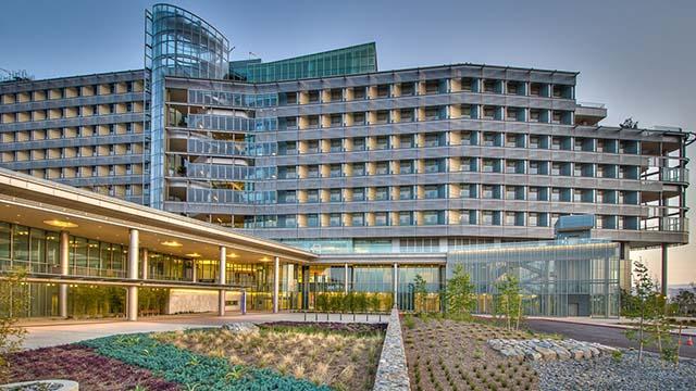 Palomar Medical Center in Escondido.