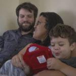 Brent, Eva and Isaac Schwartz