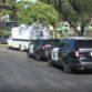 Sheriff's vehicles outside Poway apartment