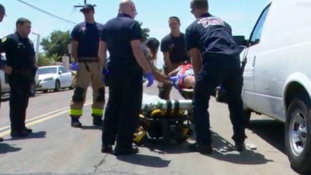 VIctim San Diego Fire Rescue