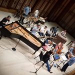 Inon Barnatan practices with the SummerfFest Chamber Orchestra.