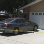 The car where the toddler was found