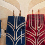 Toral scrolls at a San Diego synagogue