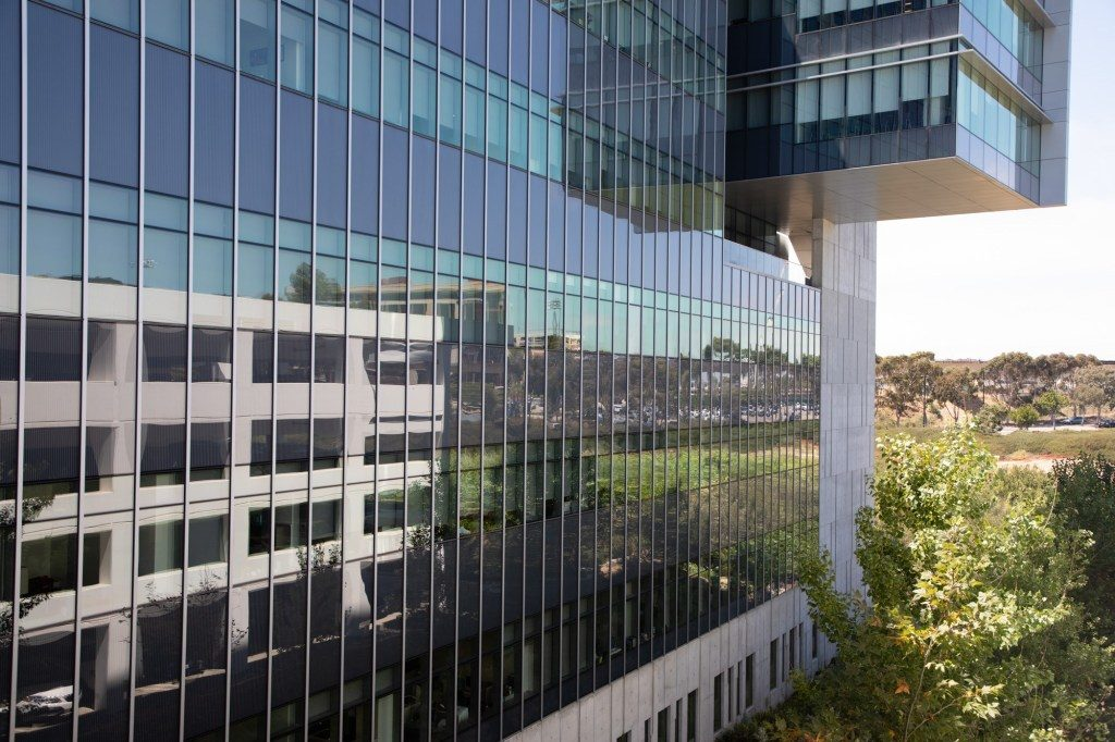 The UC San Diego Altman Clinical and Translational Research Institute is shown in this photo from Aug. 12, 2019. (Zoë Meyers/inewsource)