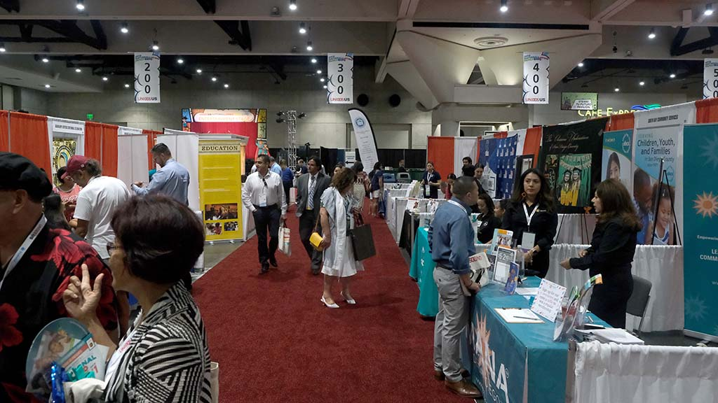 The family expo at the convention center focuses on community resources and services including free health screenings, entertainment and giveaways.