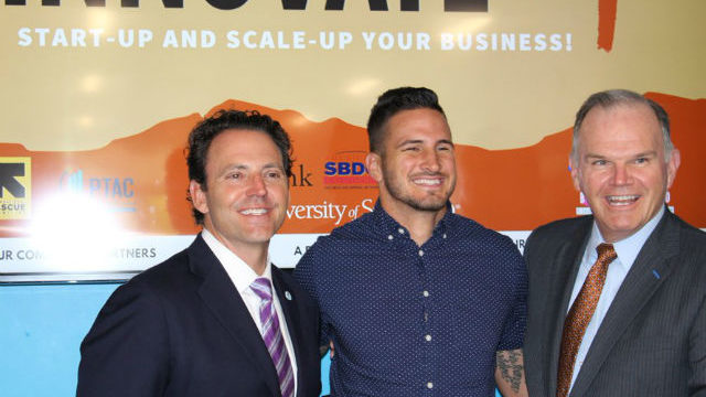 Nathan Fletcher at launch of small business accelerator program